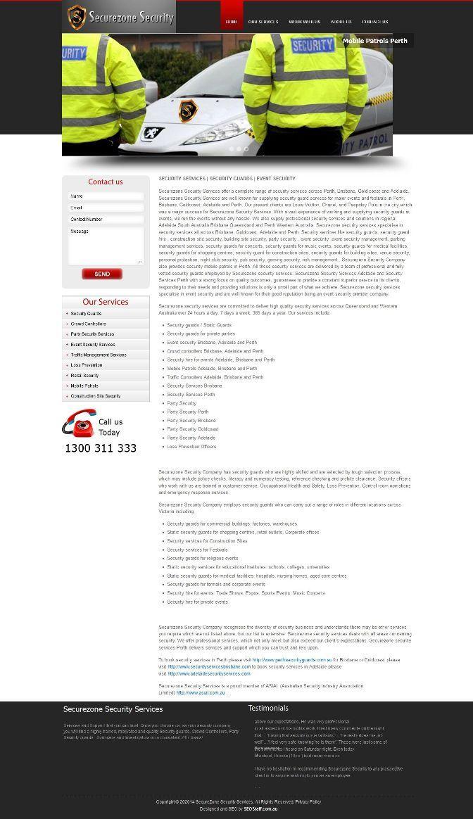 Securezonesecurity.com.au